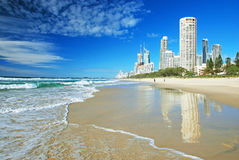 Goldcoast Photo libre de droits