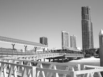 Goldcoast. How beautiful is the city and beach scene Royalty Free Stock Photo