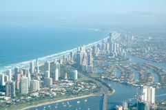 Goldcoast Skyview Image stock