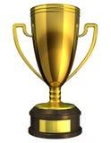Goldcup, Preis. Lizenzfreie Stockfotografie
