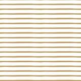 Goldcute gestreepte structuur Vector abstracte achtergrond Naadloos patroon Royalty-vrije Stock Afbeeldingen