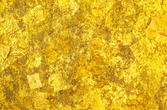 Goldden glitter Close Up background texture Royalty Free Stock Photo
