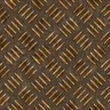 Golddiamant-Platte Stockbild