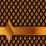 Golddiamanthintergrund Lizenzfreie Stockbilder