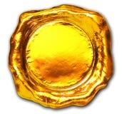 Golddichtung Lizenzfreie Stockbilder