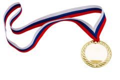 Golde? медаль стоковые фотографии rf