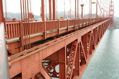 Golde gate bridge detail Royalty Free Stock Image