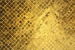 Golde tiles Stock Photo
