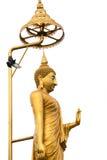 Golded Buddha Stock Photo