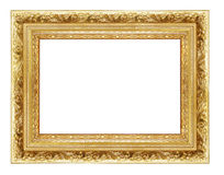 Goldeh frame Royalty Free Stock Photos