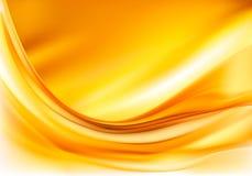 Goldeleganter abstrakter Hintergrund Stockbilder