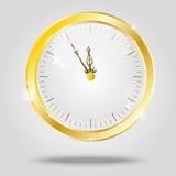 Golden сlock Stock Images