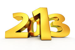 Golden 2013 Stock Image