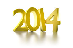 Golden 2014 Stock Image