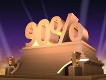 Golden 90% Stock Photography