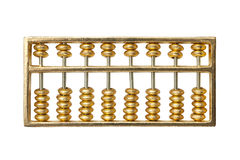 golden abacus Stock Photography