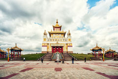 Golden Abode of Buddha Shakyamuni Stock Images