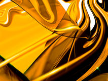 Golden abstract Stock Photography
