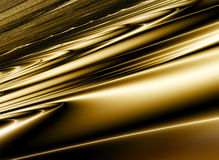 Golden abstract background. Golden, shiny, abstract background with lines and light royalty free illustration