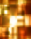 Golden abstract background. With some cubic features royalty free illustration