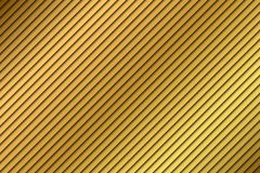 Golden abstract background, beige diagonal stripes. Orange modern texture, vector illustration Stock Images