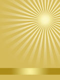 Golden abstract background. In  for design Stock Images
