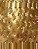 Golden abstract background in the form of a spray of scales and spots. Royalty Free Stock Photo