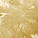 Golden abstract background. Gold texture. Abstract background for fashion, luxury paper, covers, cards. Vector illustration art. Psychedelic golden splashes and Stock Images