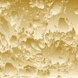 Golden abstract background. Stock Photo