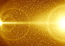 Golden abstract background Royalty Free Stock Photography