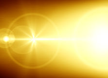 Golden abstract background Stock Image
