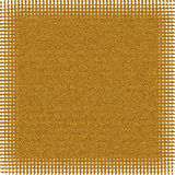 Golden abstract background with spots. Or points, abstract background and design royalty free illustration