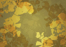 Golden abstract background Royalty Free Stock Image