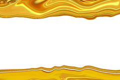 Golden abstract blurry Royalty Free Stock Images