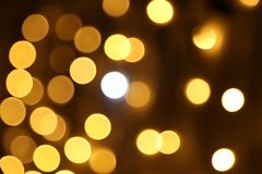 Defocused bokeh lights royalty free stock images