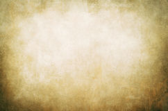 Golden abstract canvas background Stock Images