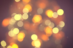 Golden abstract defocused background Stock Photo