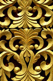 Golden abstract design Royalty Free Stock Images