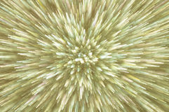 Golden abstract explosion lights background Stock Photography