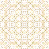 Golden abstract geometry vector seamless pattern. Golden abstract geometry background. Vector seamless pattern Royalty Free Stock Photo