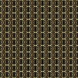 Golden Abstract Linked Background. A linked gold pattern background over black vector illustration