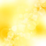 Golden abstract romantic background Stock Image