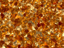 Golden abstract technology background Stock Images