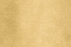 Golden abstract texture painted on art canvas background Stock Image