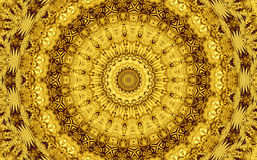 Golden Abstract Texture Patterns Background Stock Photography
