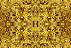 Golden Abstract Texture Patterns Background Royalty Free Stock Photography