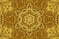 Golden Abstract Texture Patterns Background Royalty Free Stock Image