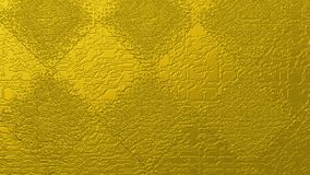 Golden abstract textured background of squares and rhombuses. Rough gold metallic textured background. golden rough and textured rhombuses over a distressed gold royalty free illustration