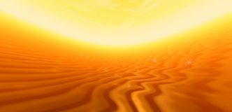 Golden abstraction banner Royalty Free Stock Images