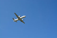 Golden Air airplane Royalty Free Stock Image